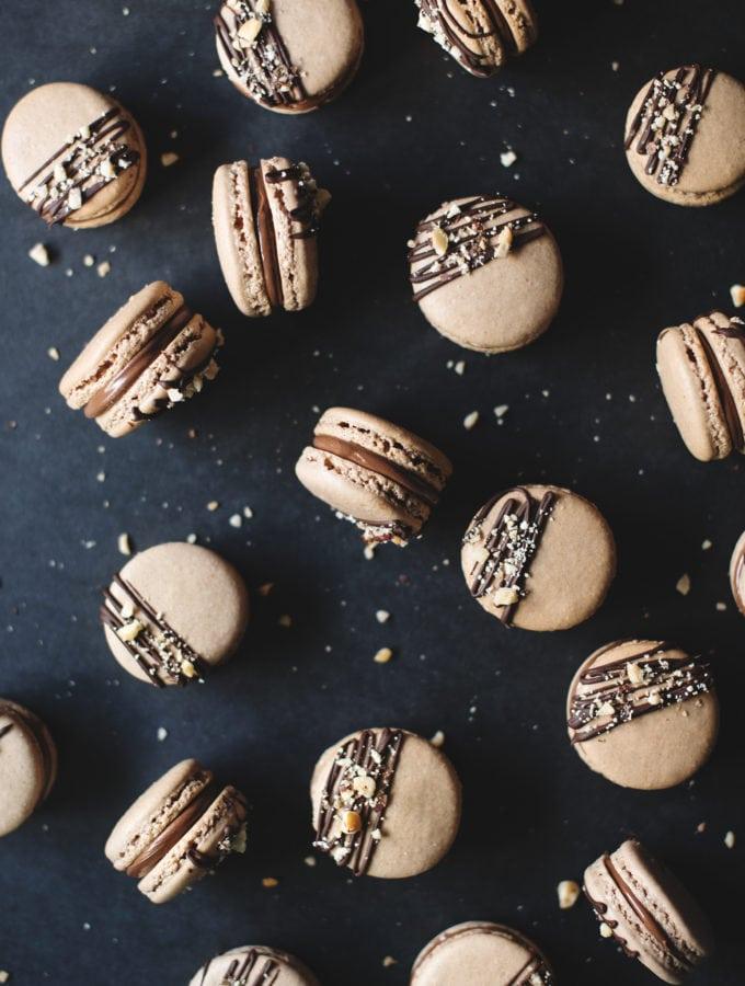 Ferrero Rocher Macarons | Teak & Thyme