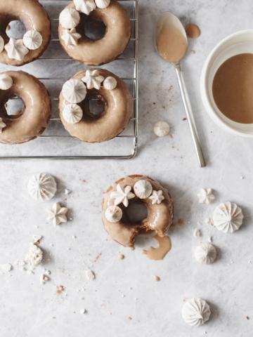 Malted Milk Donuts | Teak & Thyme