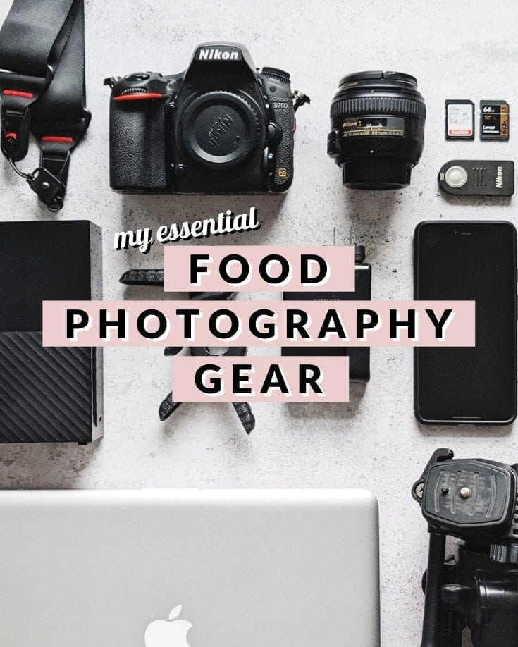 Flatlay of cameras and photography gear